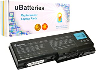 UBatteries Compatible Battery PA3536U-1BRS 48Whr Replacement for Toshiba Satellite P200 P205 L355 X200 X205 PABAS100 PABAS101 PA3537U-1BAS PA3537U-1BRS Series - 6 Cell 4400mAh