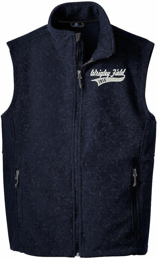 Wrigley Field 1914 Men's Full Zip Value Fleece Vest-F219