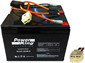 Razor Scooter Battery and New Wiring Harness 12 Volt 7Ah - Set of 2 Includes (6-DW-7) Beiter DC Power®