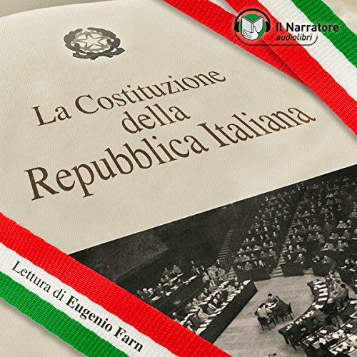 La Costituzione della Repubblica Italiana audiobook cover art