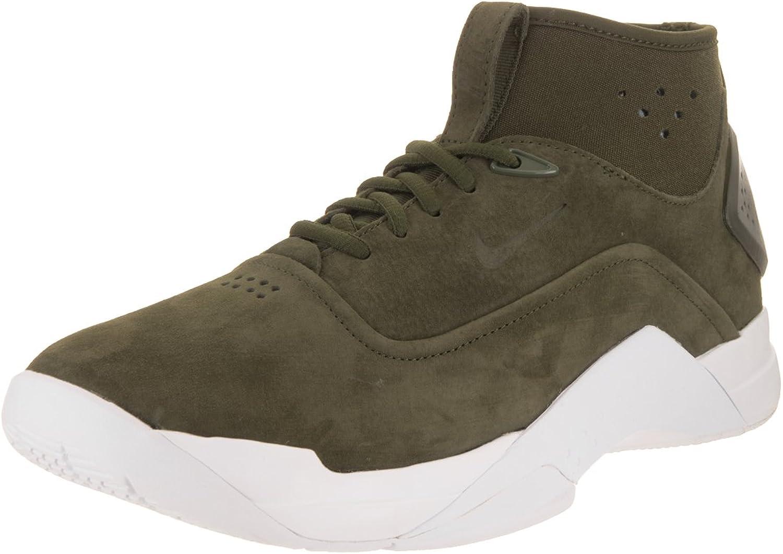 Nike Men's Hyperdunk Low Crft Cargo Khaki Cargo Khaki White Basketball shoes 10.5 Men US