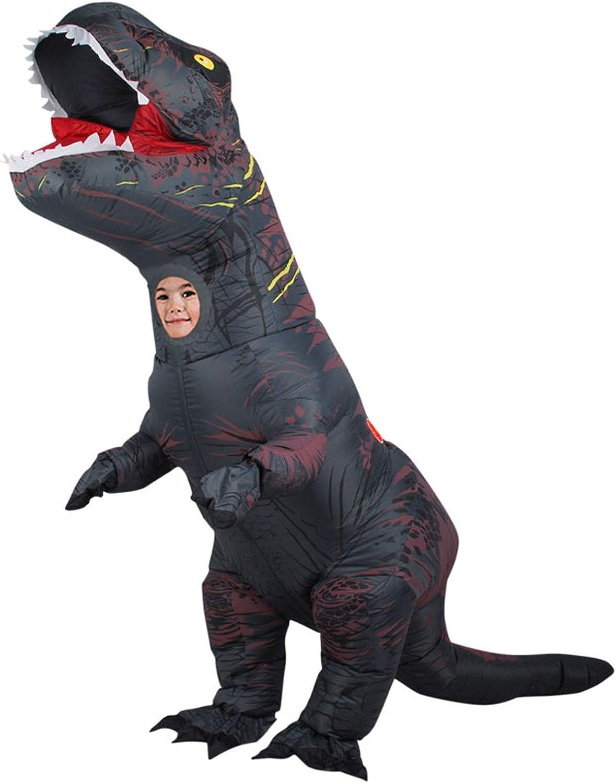 Abgreeliamento Gonfiabile Adulto di Htuttioween, Puntelli gonfiabili del Partito di Prestazione di Festival dei Vestiti del Dinosauro del Dinosauro di Tyrannosaurus,G , ld