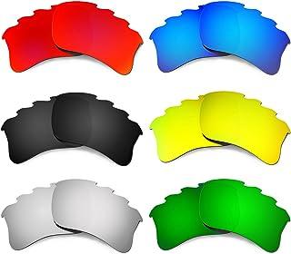 Hkuco Mens Replacement Lenses For Oakley Flak Jacket XLJ-Vented Sunglasses