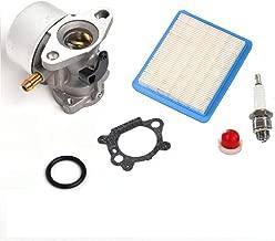 JR PARTS Carburetor for Briggs & Stratton 14111 Craftsman 625 498170 6150 Engine with Gasket Air Filter Primer Bulb Spark Plug