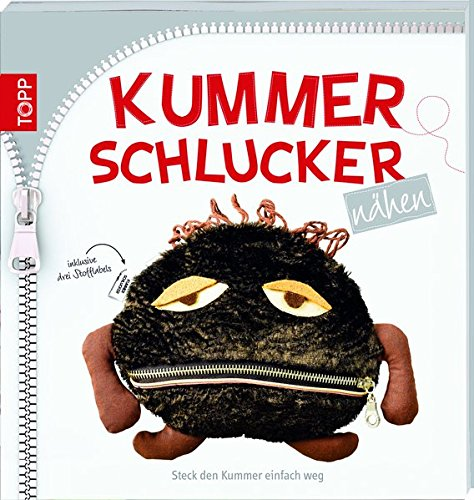 Kummerschlucker nähen: Steck den Kummer einfach weg. Mit 3 Textil-Labels.