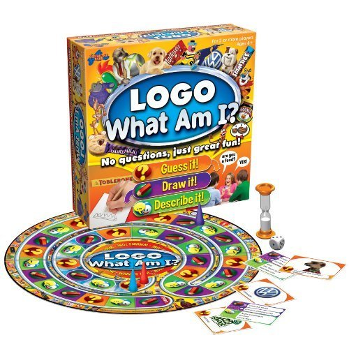 What Am I Logo Board Game by Drumond Park