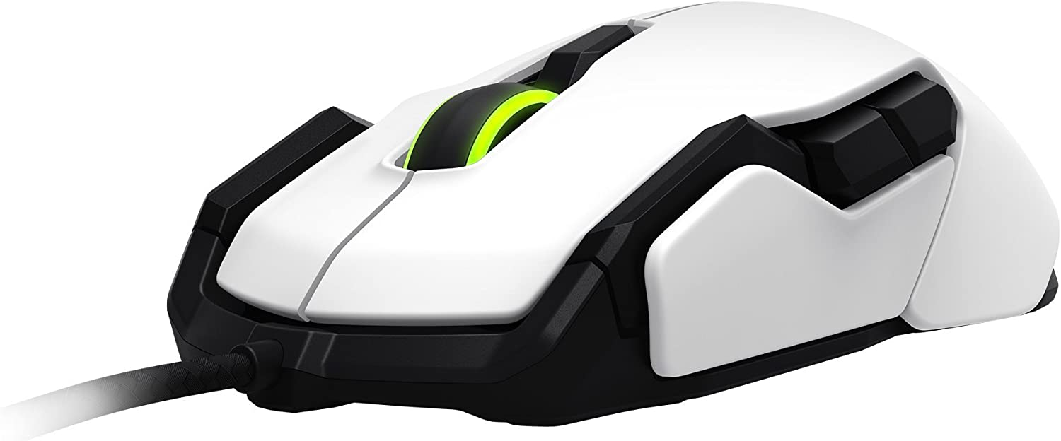 White ROCCAT Kova ROC-11-503 Pure Performance Gaming Mouse