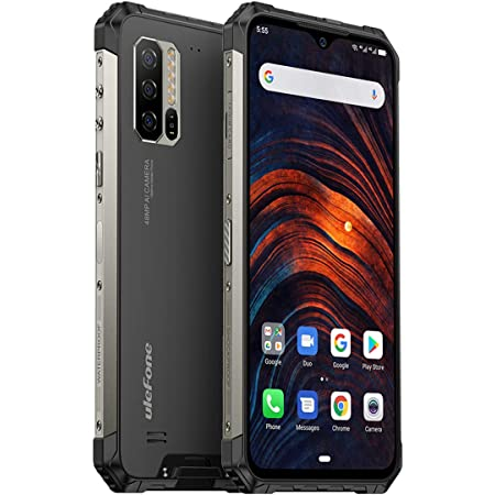 Amazon Com Ulefone Armor 7 2020 Rugged Smartphone Unlocked Android 10 Ip68 Waterproof Cell Phones Helio P90 8gb 128gb 48mp 2mp 2mp Triple Camera 5500mah Qi Wireless Charge 6 3 Fhd Global Bands Nfc