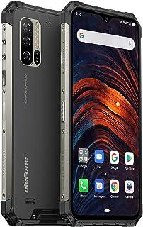 """Ulefone Armor 7(2019)堅牢なスマートフォンのロック解除、IP68防水携帯電話Helio P90 8GB + 128GB、48MP + 16MP + 8MPトリプルカメラ、5500mAhバッテリーQIワイヤレス充電、6.3""""FHD +、グローバルバンド、NFC"""