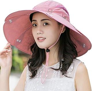 CJC Sombreros para El Sol Gorra De Pesca De Secado Rápido Unisex Navegación, Deportes Al Aire Libre, Jardinería, Montañismo (Color : Rosado)