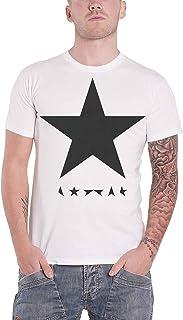 David Bowie デビッド・ボウイ Blackstar Logo Album ブラックスター・アルバム 公式 メンズ ホワイト 白 Tシャツ 全サイズ