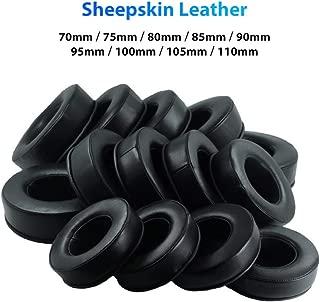 Bluetooth Earphones & Headphones,pgmrw23h 1Pc 70-110mm Replacement Faux Leather Sponge Headphone Earpad Ear Pad Cushion - 100mm
