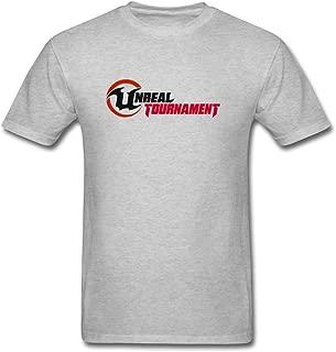 ZHENGXING Men's Unreal Tournament 3 Cool Game Logo T-Shirt S ColorName Short Sleeve