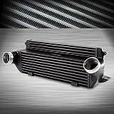 Front Mount Aluminum Turbo Intercooler Kit For BMW E82 E88 135i 1M E90 E91 E92 335i E89 Z4 Black