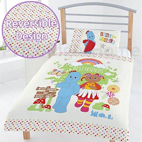 In the Night Garden In the Best Friends Junior Duvet Set, Polyester-Cotton, Multi-Colour, Full