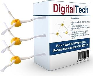 DigitalTech - Pack de Tres cepillos Laterales de Recambio