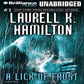 A Lick of Frost audiobook cover art