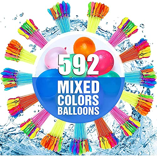NIAH Water Balloons for Kids Girls Boys Balloons Set Party Games Quick Fill...