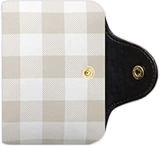 gingham business cards