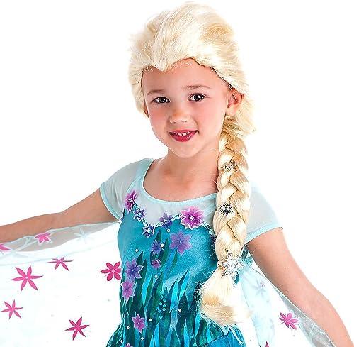 Die Eisk gin - v ig unverfüren - Elsa Kostümperücke - Perücke