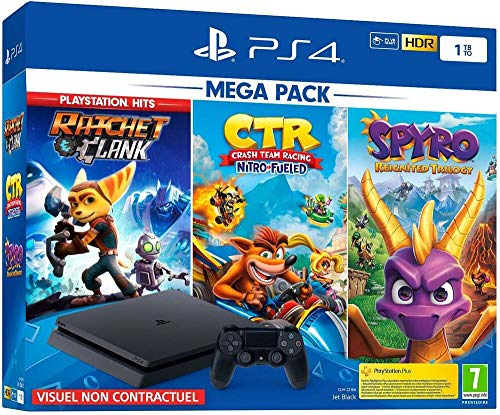 PS4 1 To Crash Team Racing + Spyro + RC Hits