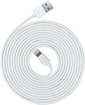 OPSO [Apple MFi Certified] 3M / 10 ft Lightning 8-pin to USB Charging Cable/Cord Compatible with iPhone 7 6s 6 Plus SE 5s 5c 5,iPad Pro Air 2,iPad Mini 4 3 2,iPod Touch Nano - White