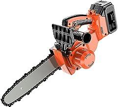 Snoerloze kettingzaag elektrische snoeischaar op batterijen met 2 accu boomtak snoeischaar Lange werktijden (9,6 inch schaar)