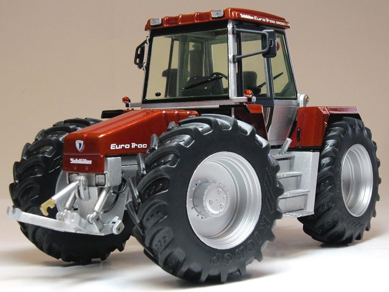 Weise-toys Schluter Euro Trac 1900LS Traktor (Wein Rot Metallic)