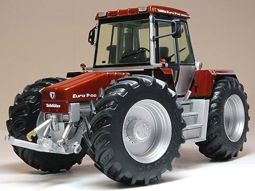 Weise Toys 2631,4cm Schlüter Euro Trac 1900LS Bordeaux métallique modèle Tracteur Jouet, Echelle 1 32