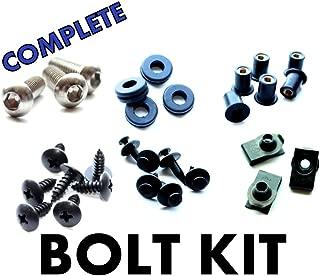 Suzuki SV650 03 04 05 06 07 08 09 Motorcycle Fairing Bolt Kit, Complete Screws and Fasteners kit SV 650 2003 2004 2005 2006 2007 2008 2009