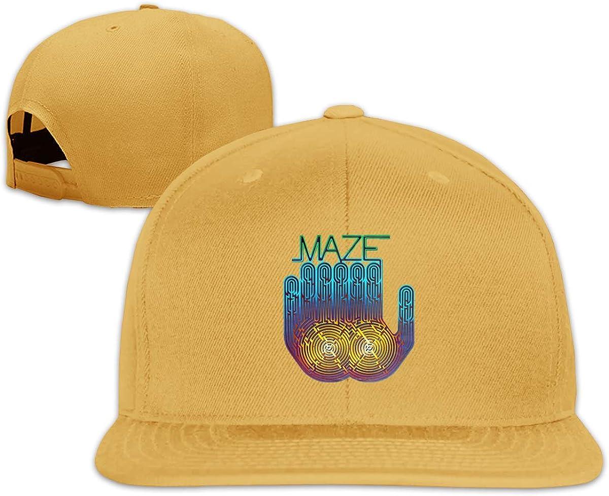 Yearzimn Unisex Baseball Caps Breathable Maze Frankie Beverly Tour 2016 Design Mens/&Woman Adjustable Flat Trucker Hat