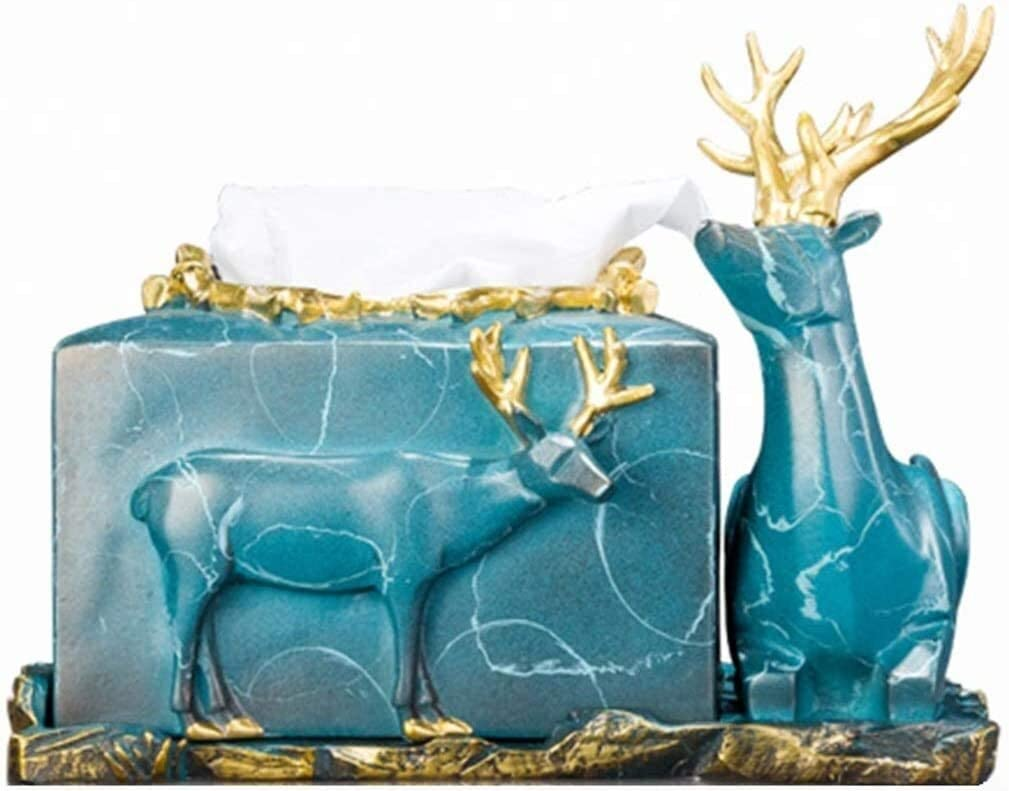 lyqqqq Tissue Box Decoration Nashville-Davidson Mall Simple Ranking TOP13 Deer Double European