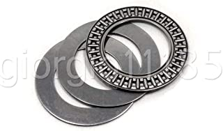US Stock 2pc AXK1024 Thrust Needle Roller Bearing With Two Washers 10 x 24 x 2mm