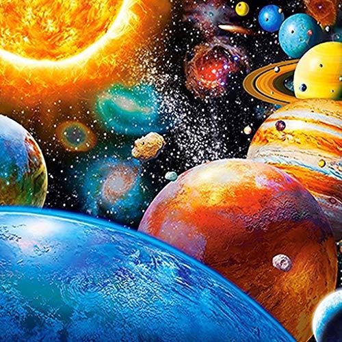 Precioul DIY Diamant Malerei 5d Diamond Painting voller Stickerei Malerei Pier für Home Wand Decor gemälde Kreuzstich Universum, Planet, Saturn Venus Jupiter