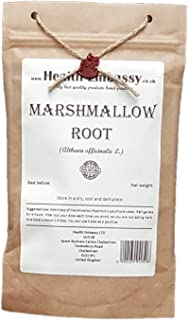 Marshmallow Root (Althaea officinalis L. - Althaeae radix) - Health Embassy - 100% Natural (50g)