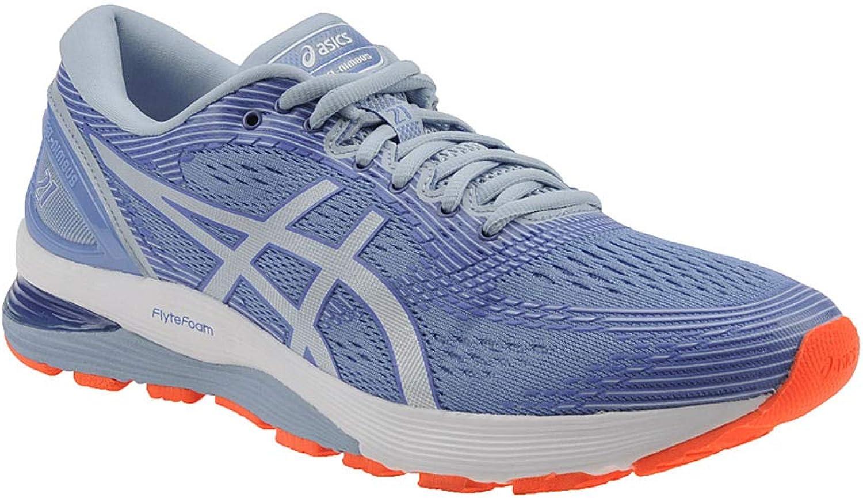 ASICS - Damen Gel-Nimbus 21 Schuhe, 37.5 EU, Blau Coast Skylight
