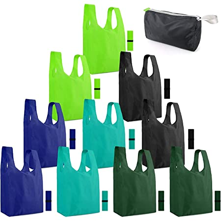 Compact Foldable Backpack with Drawstring Shopping Bags Reusable Durable and Lightweight/Polyester Bag Water Resistant Daypack for Women /& Men Unisex