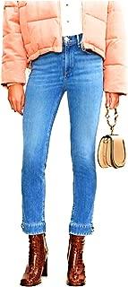 rag & bone Cuffed Cigarette Jeans - Avery