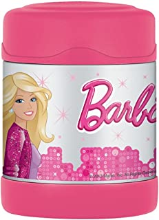 Thermos Unbreakable Stainless Steel Vacuum Insulation Funtainer Food Jar (Barbie)