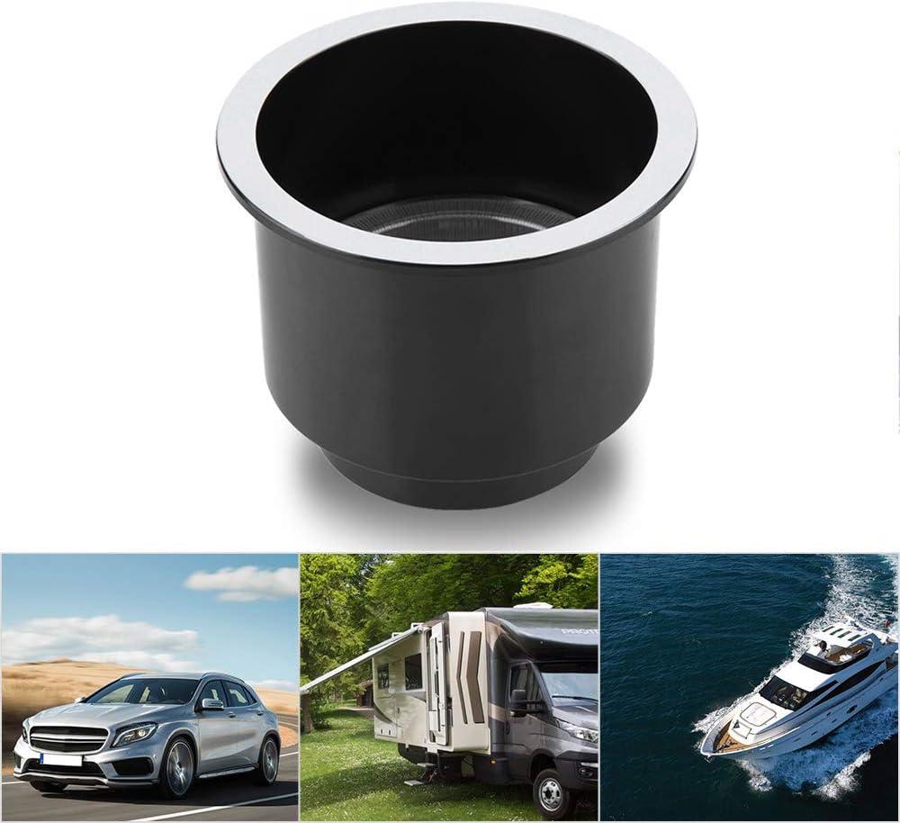 Goliraya Portavasos de pl/ástico LED para Marine Boat Car Truck RV Yacht Azul portavasos para Bebidas con luz LED con 14 LED portavasos