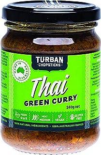 Turban Chopsticks Thai Green Curry Paste, 240 g