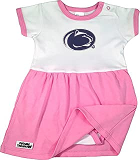 Two Feet Ahead Penn State Nittany Lions NCAA College Newborn Infant Baby Heart Creeper