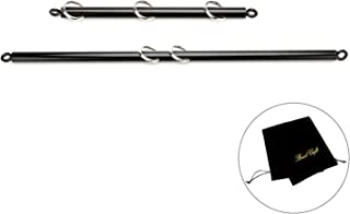 exreizst 2 Meatal Spreader Bar Black Adjustable Set Kit