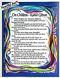 On Children 8x11 Kahlil Gibran poster - Heartful Art by Raphaella Vaisseau