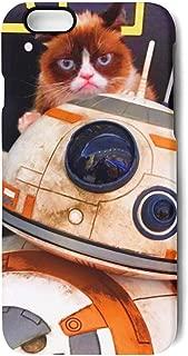 Cute Phone case iPhone 7/8 Plus Grumpy cat Astronaut Shock-Absorbing Cell iPhone 7 Plus Skin 8 Plus