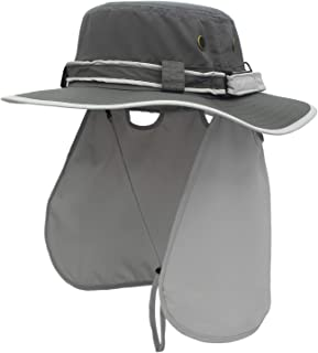 Sun Hat with Neck Flap UV Protection Outdoor Caps Fishing Bucket Hat Hunting Desert Beach for Men & Women