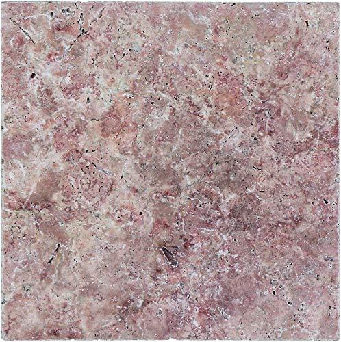 Tegel Travertin natuursteen rode tegel rosso antieke travertine voor muur badkamer toilet douche keuken tegelspiegel tegelverkleeding badkuip mozaïekmat mozaïekplaat