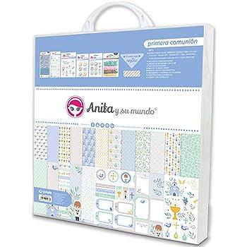 KIT para scrapbooking - Primera Comunión - niño: Amazon.es: Hogar