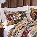 Greenland Home Fashions Antique Chic Standard Sham-Multi, 20x26-inch, Multicolor