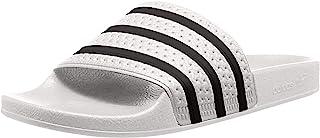 Adidas Originals Adilette - Ciabatte da uomo, Bianco (White), 42 1/3 EU